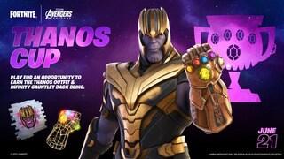 La skin di Thanos arriva su Fortnite: ecco quando sarà disponibile