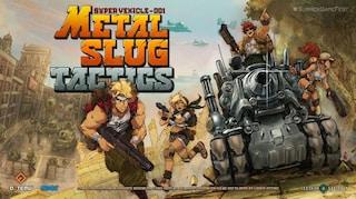 """Il ritorno di Metal Slug: l'icona degli anni '90 diventa """"Tactics"""""""
