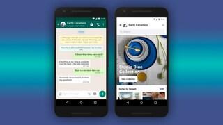 Su WhatsApp arrivano i negozi virtuali: come funzionano