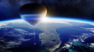 Viaggiare nello spazio in mongolfiera: si potrà fare dal 2024