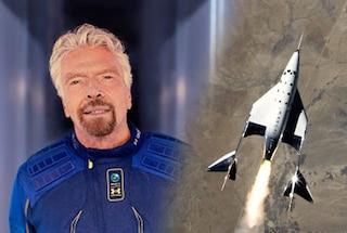 Richard Branson è andato nello spazio: è iniziata l'era del turismo spaziale