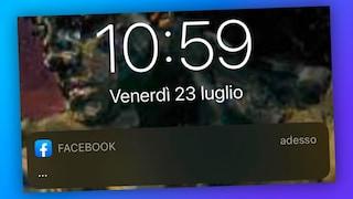 """Il mistero della notifica Facebook """"..."""": i tre puntini di sospensione invadono gli smartphone"""