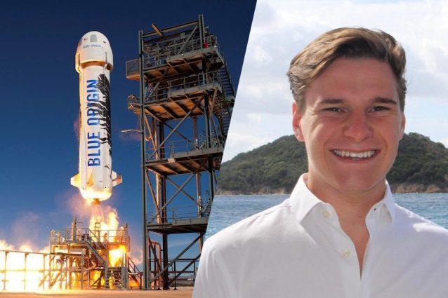 Un 18enne volerà con Jeff Bezos nello spazio: è il più giovane astronauta nella Storia