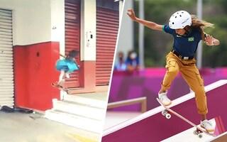 I suoi video sullo skate erano virali su Vine, ora ha vinto una medaglia olimpica