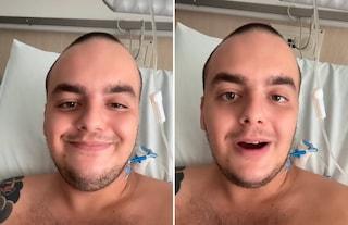 """Caduta in moto per il tiktoker Alessio Pellizzoni: """"Ho perso due falangi del dito indice"""""""