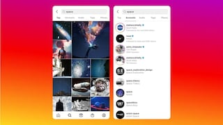 Su Instagram potrai usare la barra di ricerca per trovare foto e video nel social