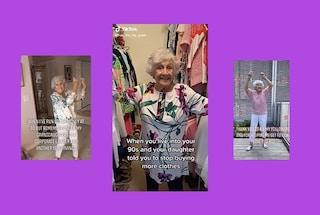 Questa nonna americana ha 93 anni ed è diventata una star ballando su TikTok