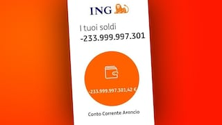 Addebiti fantasma da centinaia di miliardi sul conto corrente: panico per i clienti Ing Italia