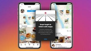 Ora Instagram ha una mappa per trovare negozi, locali e ristoranti: come si usa