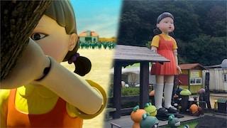 Il robot della bambola gigante di Squid Game esiste davvero: ecco dove si trova