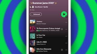 L'ultima funzione di Spotify ti consiglia nuovi brani dentro le playlist