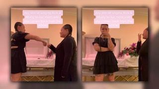 Fanno un balletto di TikTok davanti alla bara della madre morta: il macabro video è virale