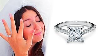 Qual è (e quanto costa) l'anello di fidanzamento dei Me contro Te