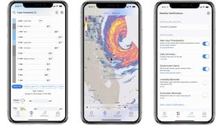 La mappa nascosta dell'iPhone che ti dice esattamente quando e dove pioverà