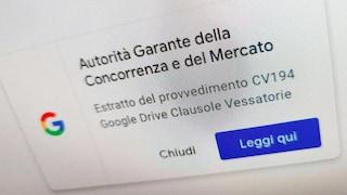 Cos'è la notifica apparsa su Google che arriva dall'Autorità Garante della Concorrenza e del Mercato