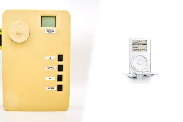 Il prototipo del primo iPod era grande quasi 9 volte il modello finale