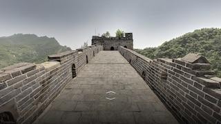 Con Google puoi camminare sulla Grande Muraglia cinese senza muoverti da casa