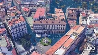 Napoli e Catania sott'acqua: questo sito mostra come sarà il mondo dopo il cambiamento climatico