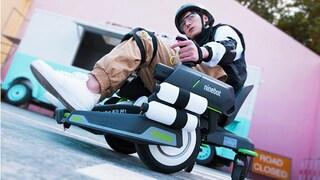 Questo kit trasforma il tuo scooter elettrico in un carro armato con proiettili gel