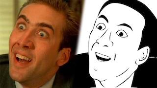 """La storia di """"You don't say?"""", l'espressione che ha trasformato Nicholas Cage in un meme"""