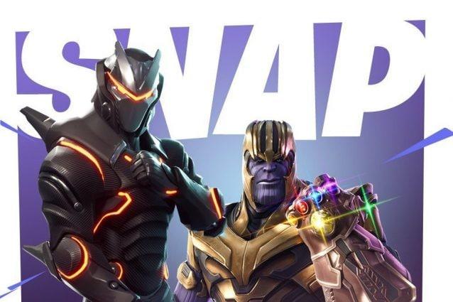 Thanos Arriva Su Fortnite Ecco La Nuova Modalita Con Il Guanto Dell