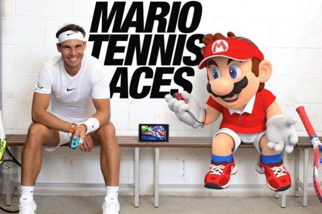 Mario Tennis Aces: Rafael Nadal ha sfidato Super Mario al Roland Garros
