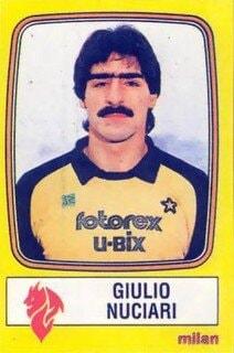 Giulio Nuciari è stato per sei stagioni uno dei portieri del Milan.