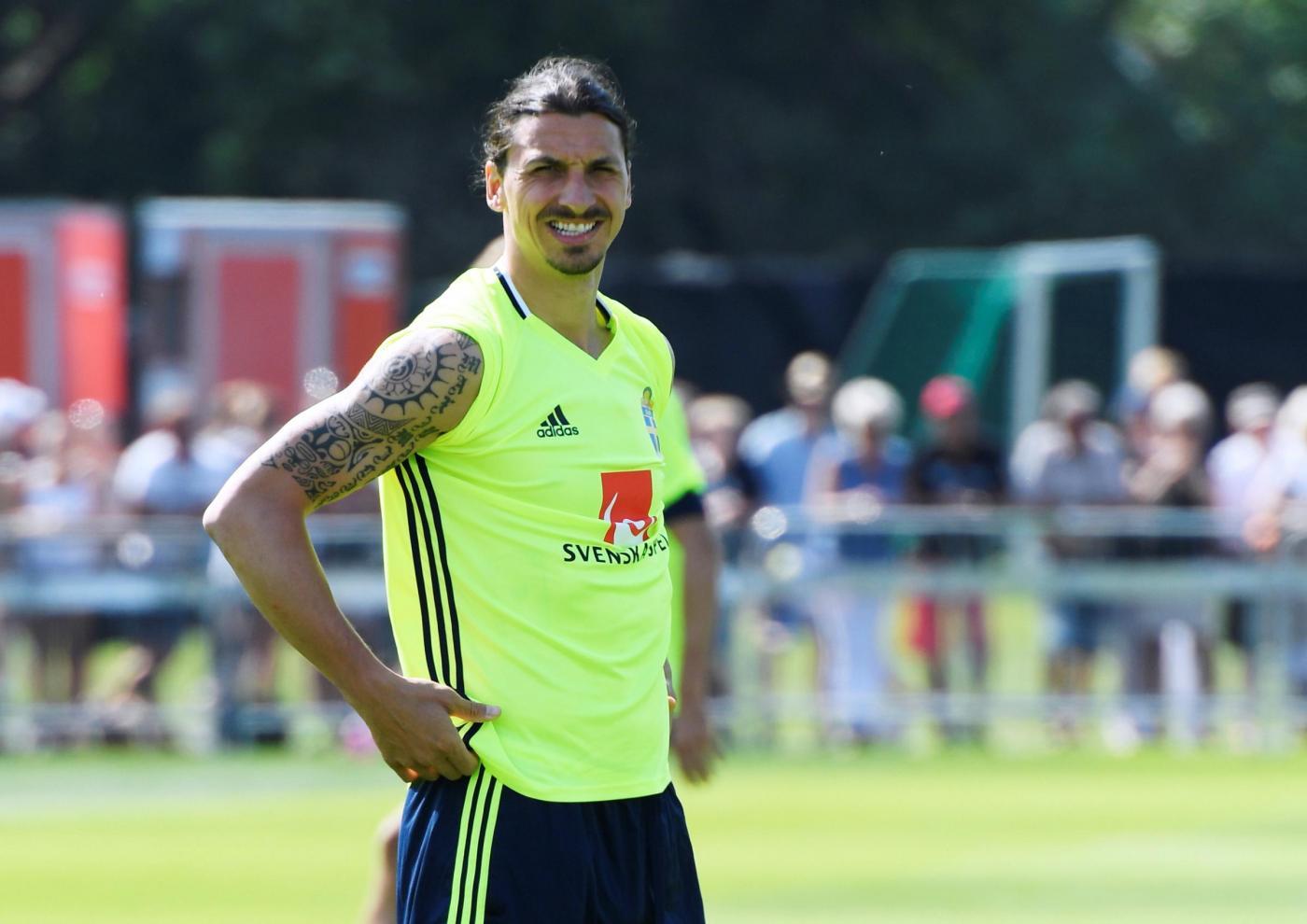Zlatan Ibrahimovic va a caccia del record di gol agli Europei.
