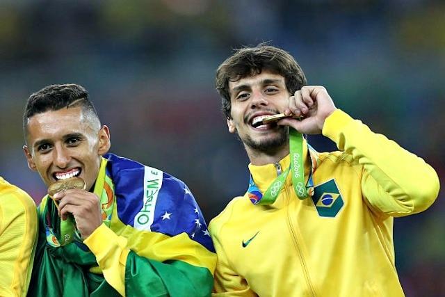 Rodrigo Caio ha vinto l'Oro olimpico a Rio 2016.