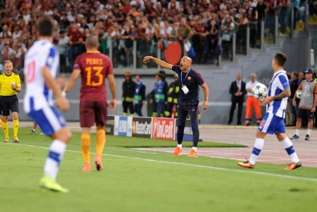 Luciano Spalletti ai tempi della sua seconda esperienza alla Roma.