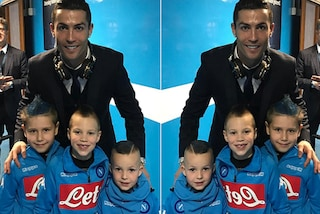 """I figli di Hamsik preferiscono Cr7 a papà: """"Per loro si fa di tutto"""""""