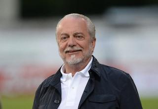 """De Laurentiis: """"Squadra esemplare. Nessun caso Sarri. Giornalisti del nord odiano Napoli"""""""