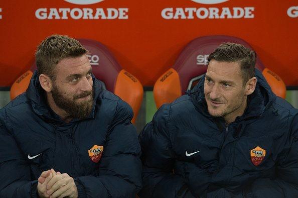 De Rossi & Totti, capitani e leggende della Roma.
