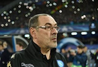 """Napoli, l'orgoglio di Sarri: """"Mai il Real Madrid è stato così in difficoltà"""""""