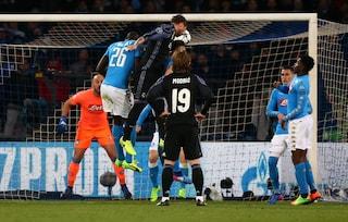 """""""Cazzo, mi hanno tolto un gol"""", per la Uefa il 2-1 in Napoli-Real non è di Ramos"""
