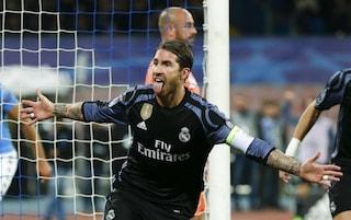 """Sergio Ramos, l'uomo dei gol decisivi, stende il Napoli: """"Ma non mi sento un eroe"""""""