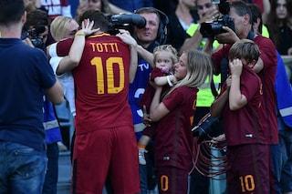 """Totti legge la lettera ai tifosi: """"Adesso ho paura, ho bisogno di voi"""""""