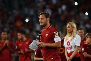 """Totti, addio alla Roma non al calcio giocato: """"Smetto? Non è detto"""""""
