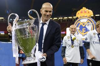 Zidane, l'uomo delle ultime 4 Champions League del Real Madrid