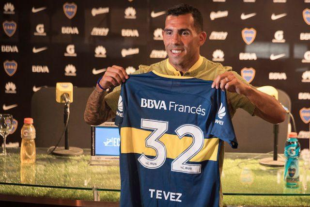 Tevez ha vinto la Champions lo United e la Libertadores con il Boca.
