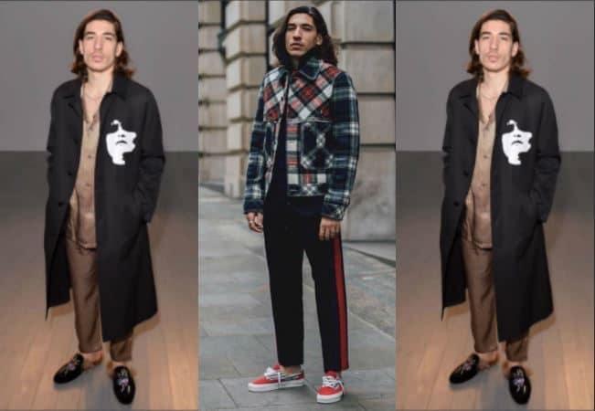 Pellicce, ciabatte, gonna e borsetta: modelle? No, è il look