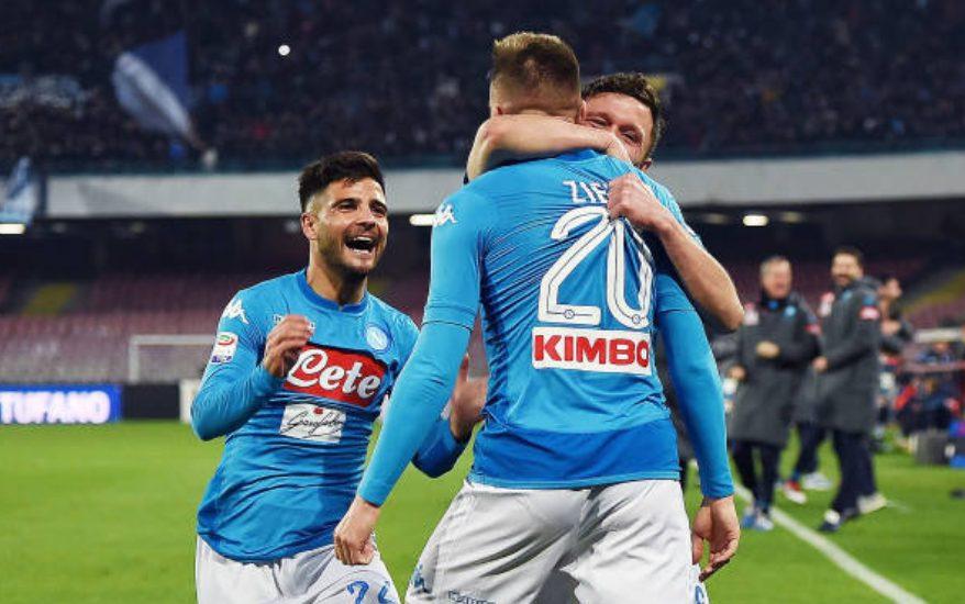 Mario Rui e Zielinski hanno prodotto il gol del momentaneo 3–1.
