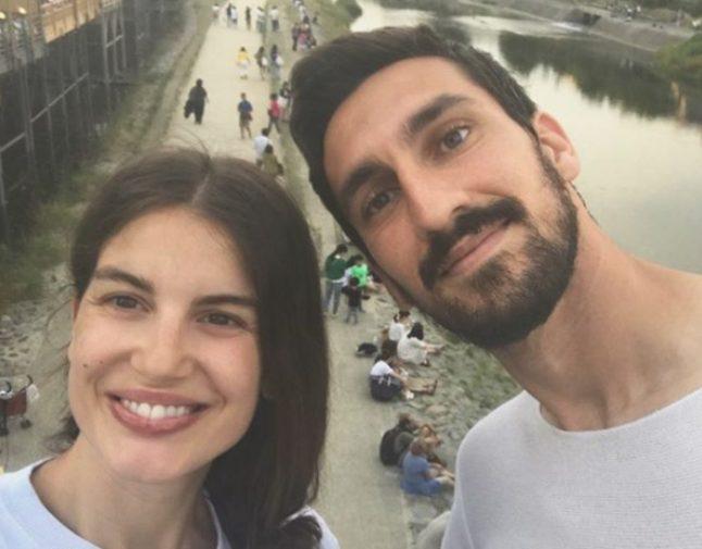 Una bella foto di Francesca e Davide.