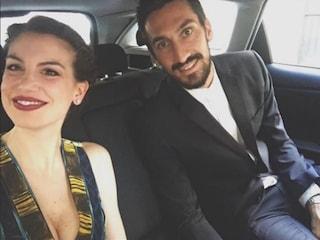 """Astori, parla Francesca Fioretti: """"Davide se n'è andato nel momento più felice della sua vita"""""""