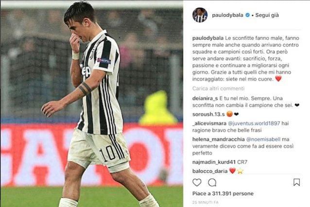 Foto https://www.instagram.com/paulodybala/