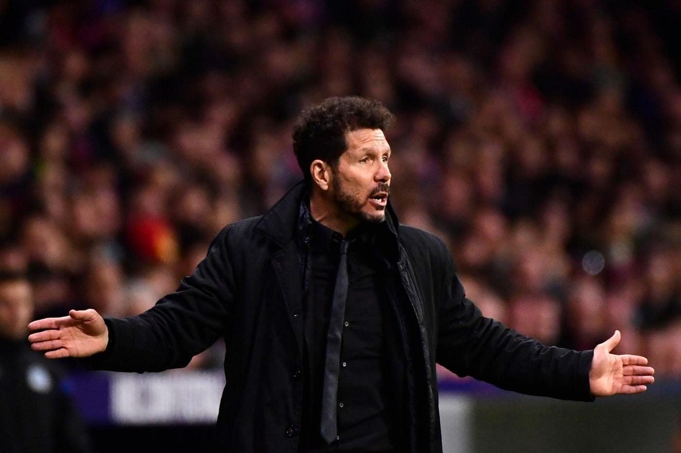 """Il Cholo non teme la Juve: 'Abbiamo il 50% a testa di passare il turno""""."""