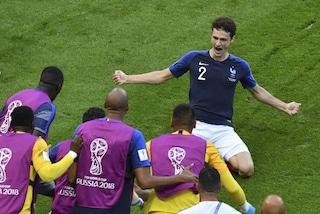 Il gol più bello dei Mondiali è quello di Benjamin Pavard in Francia-Argentina