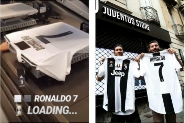 check out 17c2e 20ee9 Juventus, la maglia numero 7 di Cristiano Ronaldo: boom di ...