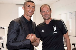 Come giocherà Cristiano Ronaldo nella Juventus, lo spiega Allegri