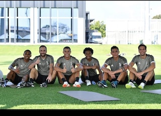 Cristiano Ronaldo, primo allenamento alla Juventus e foto con i compagni su Instagram